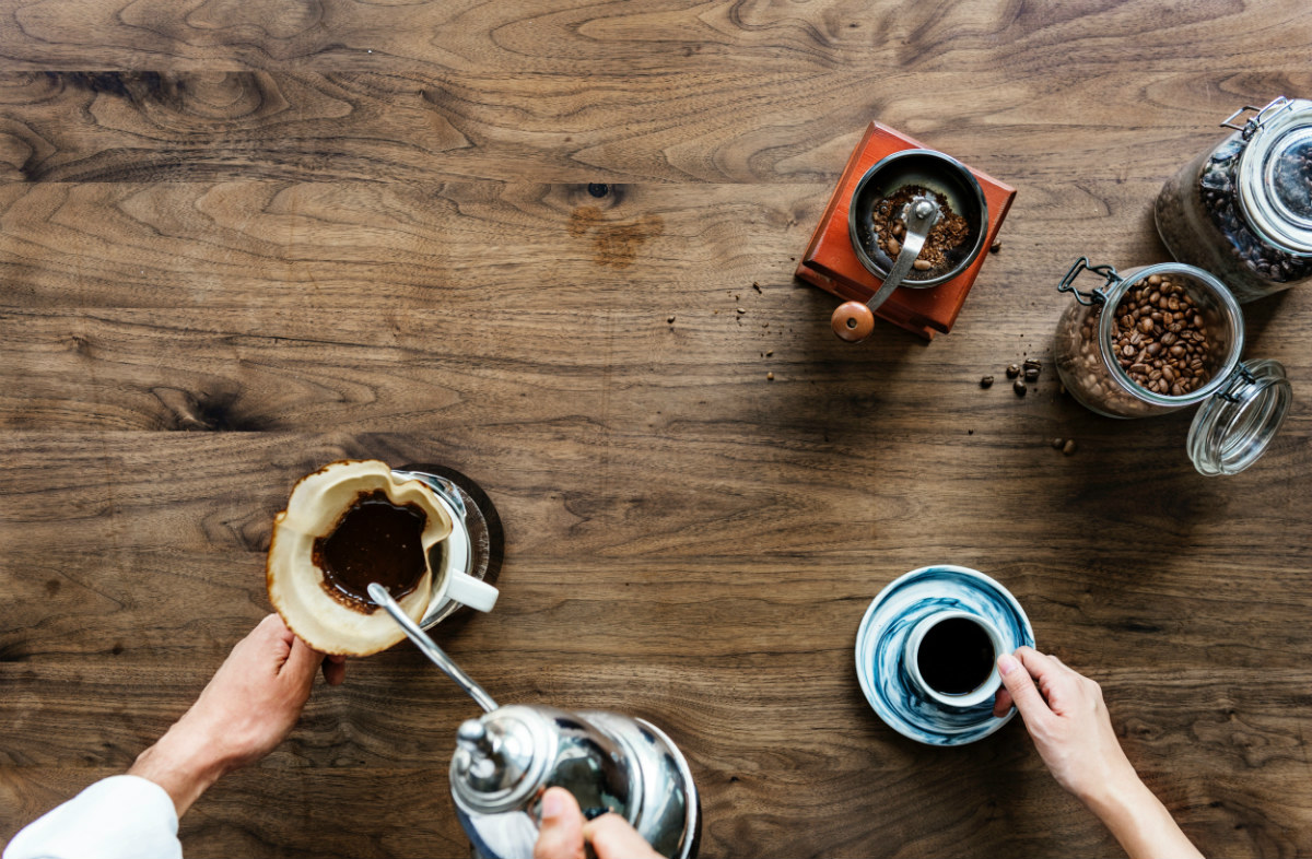 coffee beans and grounds unpacked from dtc subscription services
